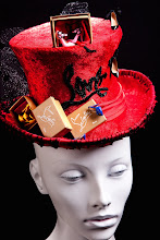 Hats I Designed In My Atelier: Louboutin Lover.