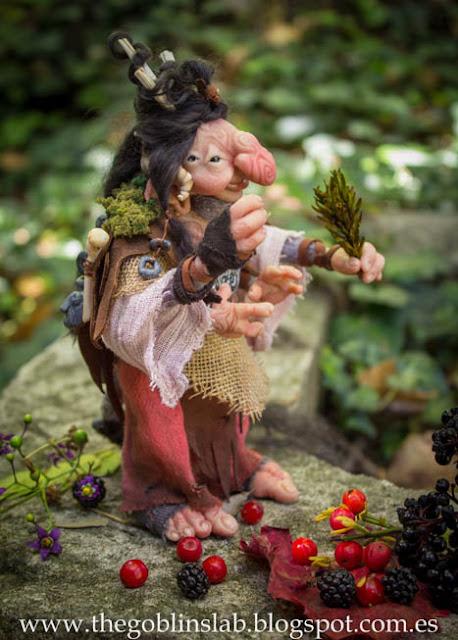ooak fantasy creature faerie healer