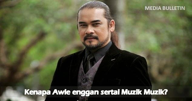 Awie Enggan Sertai Muzik Muzik Kerana Bimbang Juri Tidak Telus