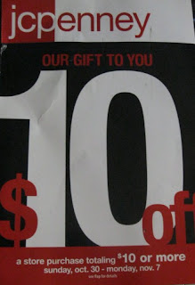$10 off $10 JCPenney coupon