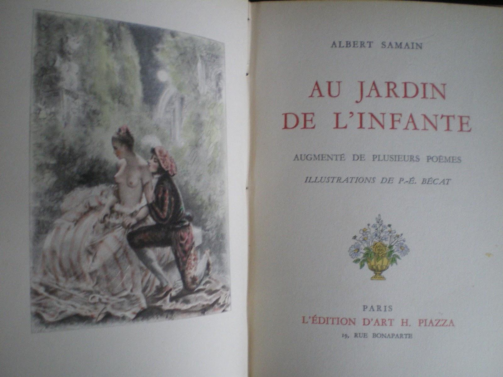 Librairie ancienne florence velk lorient janvier 2013 for Au jardin de l infante samain
