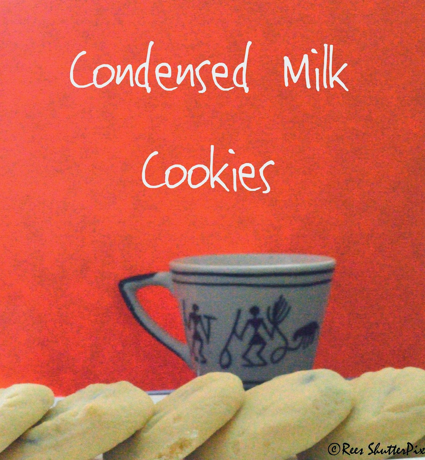 how to make condensed milk cookies, easy cookie recipe