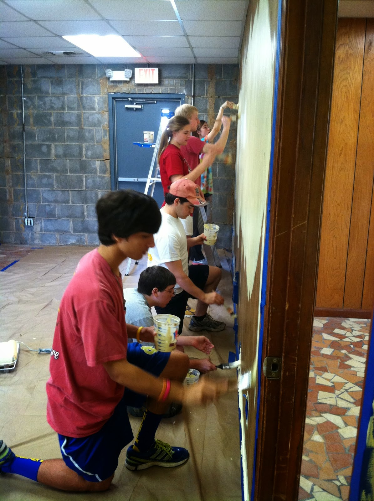 MCPS Students Spend a Saturday Renovating for Transformation Montgomery 3