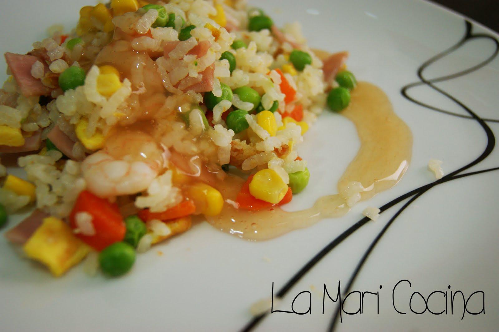 La mari cocina arroz tres delicias y salsa agridulce for Cocinar arroz 3 delicias