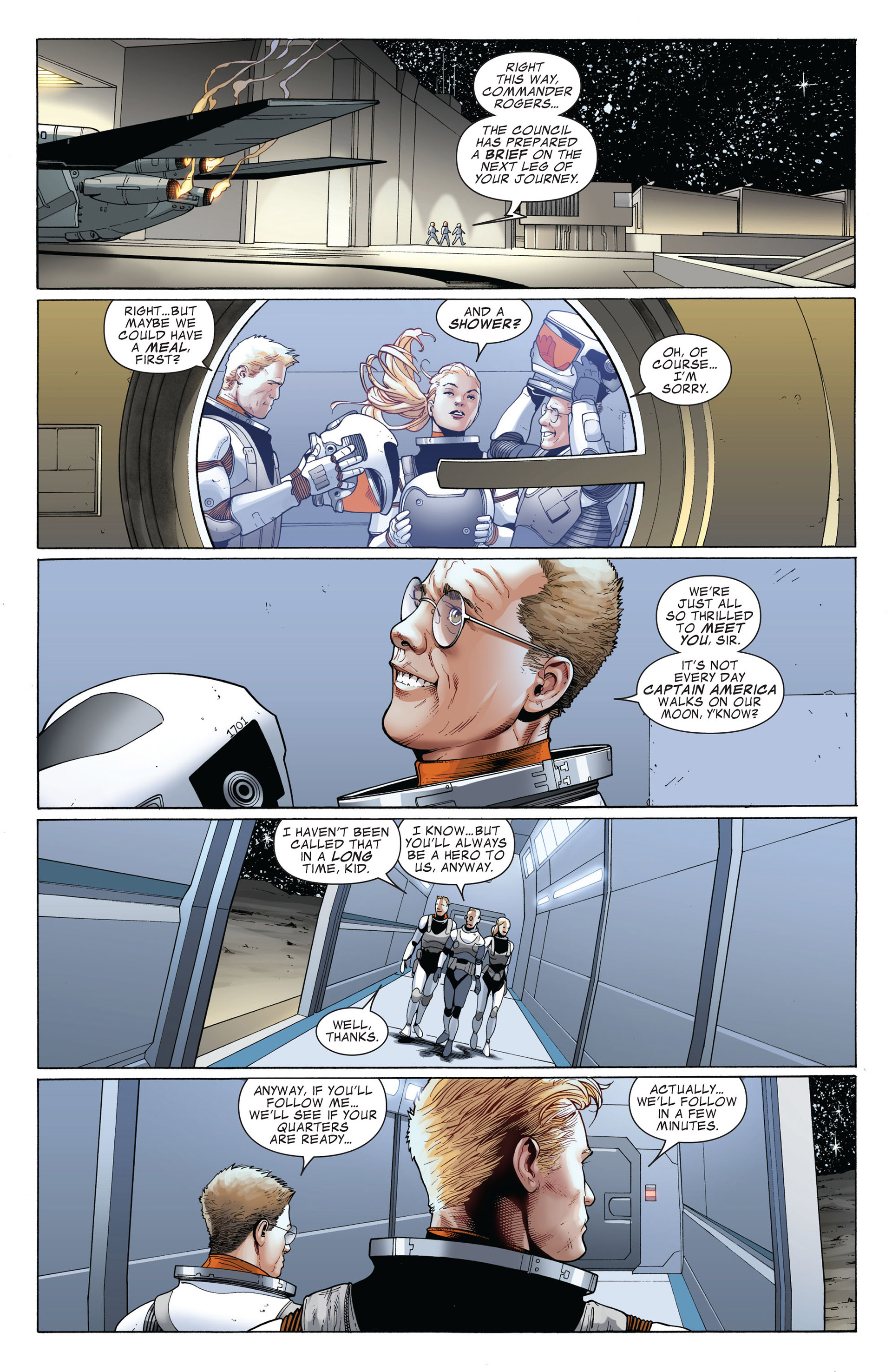 Captain America (2011) Issue #4 #4 - English 4