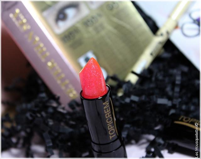 Glossybox janvier 2016 - L'Atelier du Bonheur - Rouge à lèvres Phantom Topicrem - Les Mousquetettes©
