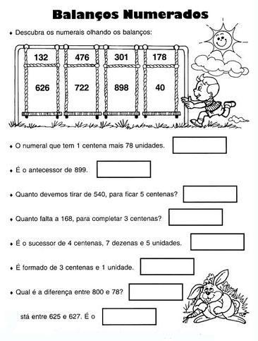 Matematica 3   Ano Atividades Para Imprimirr  42