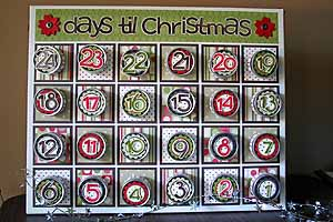 tins and velcro advent calendar tutorial