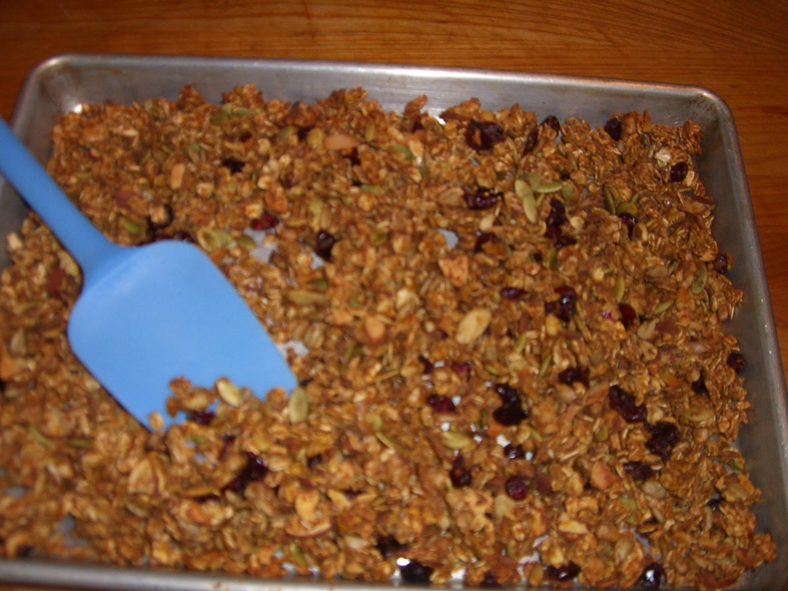 Cooking with Barry & Meta: Nutty Pumpkin Granola