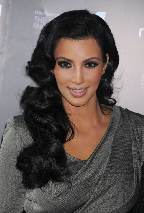 kim kardashian hot sexy pics photos changing hairstyles
