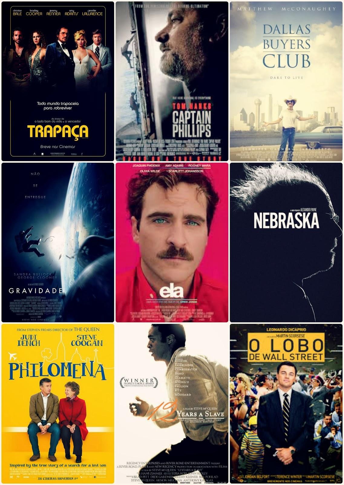 O nosso Oscar 2014: o que achamos dos filmes