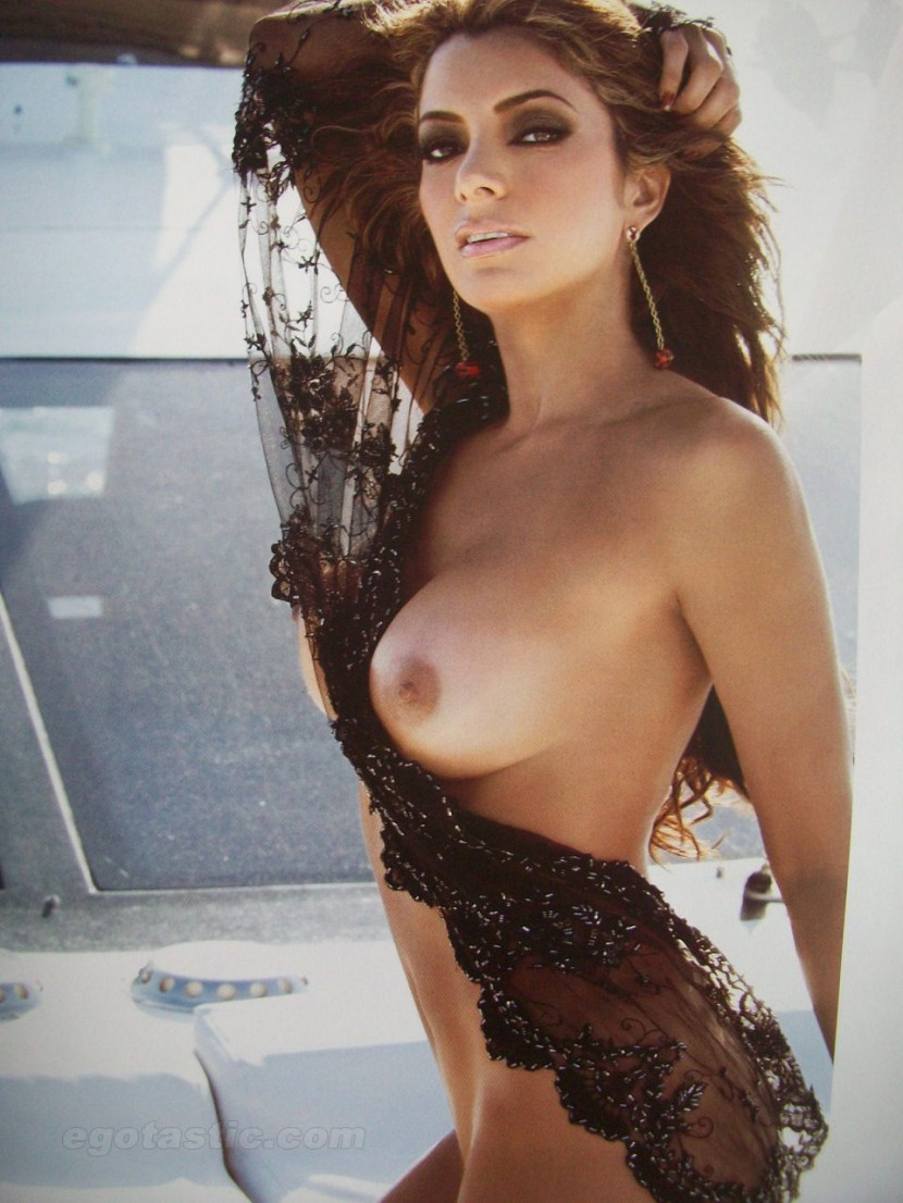 All Of Her Clothes For Playboy Magazine And Has Really Turned Us On