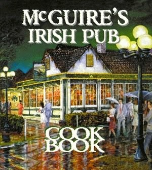 mcguire's Irish pub Cookbook cover