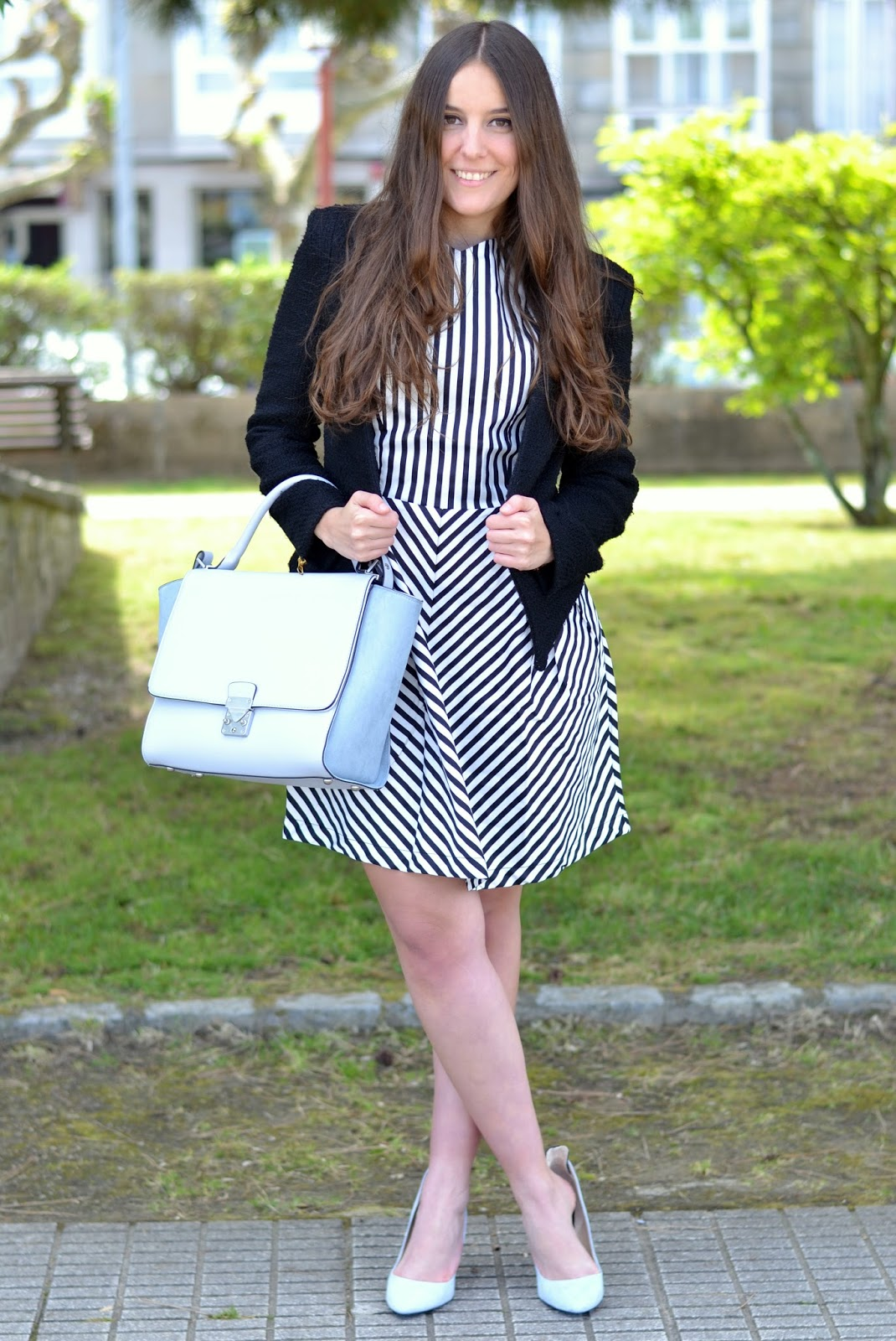 Sheinside stripes dress