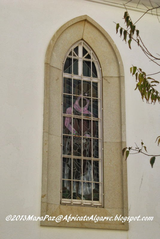 Algarve church window