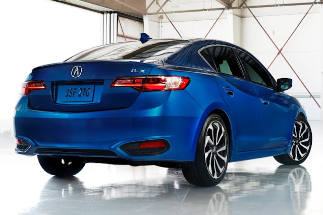 2016 Next Acura ILX Generation back view