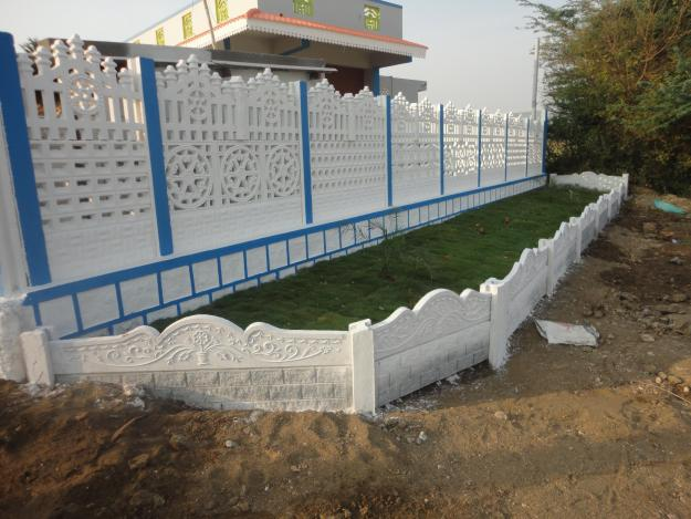 Ready Made Wall Compound : Readymade compound walls in kerala joy studio design