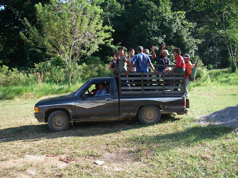 Notre transport cette après midi