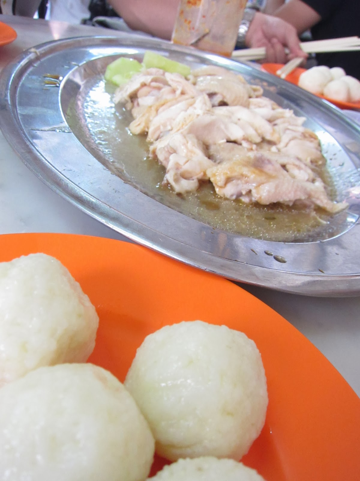 malacca famous chicken rice ball