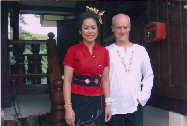 Thai marriage of author Paul Lyons and wife, Kanlayanee
