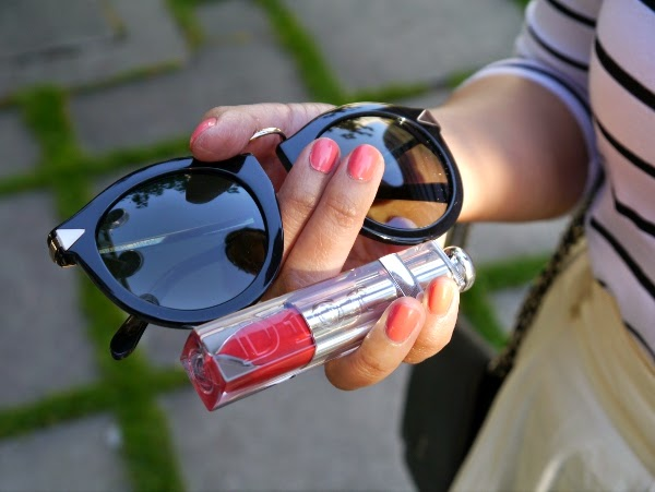 Summer essentials: Karen Walker sunnies and Dior Addict Fluid Stick