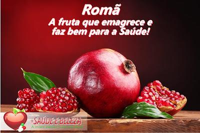 Romã: A fruta que emagrece e faz bem para a Saúde