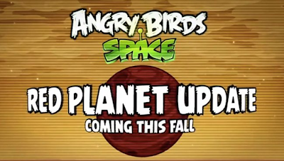 Angry Birds Space Red Planet Update coming this fall - TechDigg.com