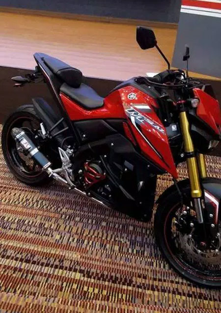 yamaha mt-15 red