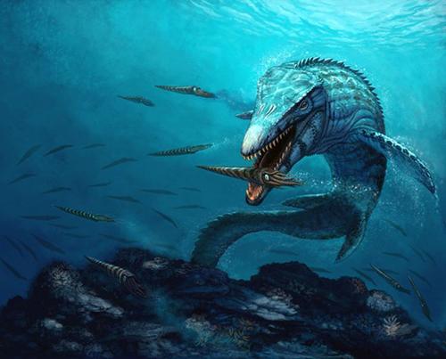Mundo Pré-Histórico: Mosassauro