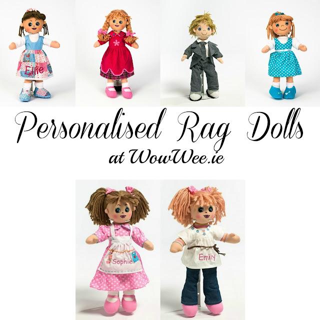 Personalised Rag Dolls At WowWee.ie