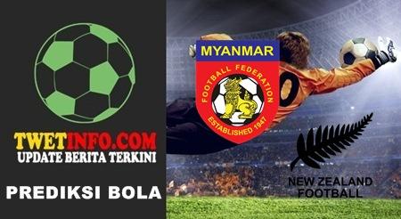 Prediksi Score Myanmar vs Selandia Baru 07-09-2015