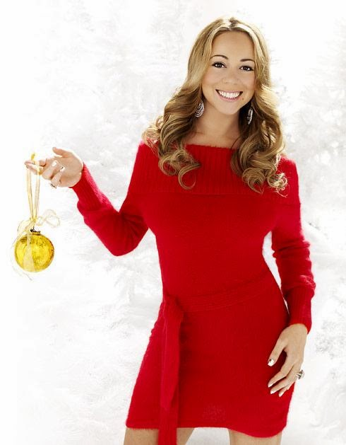eco GLAMAZINE: Christm... Mariah Carey Christmas