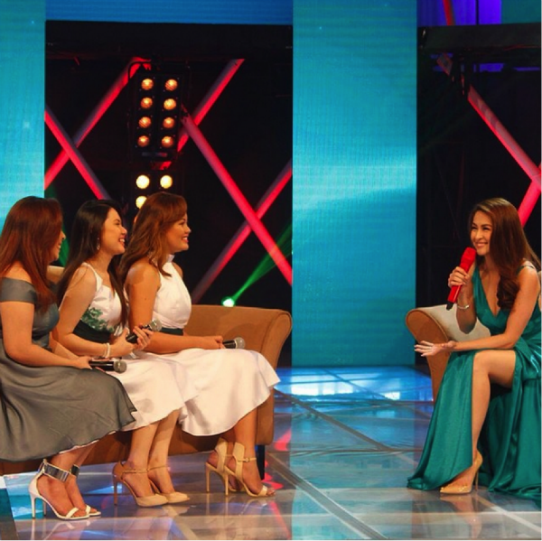 Shane, Crystal and Belle with Marian Rivera