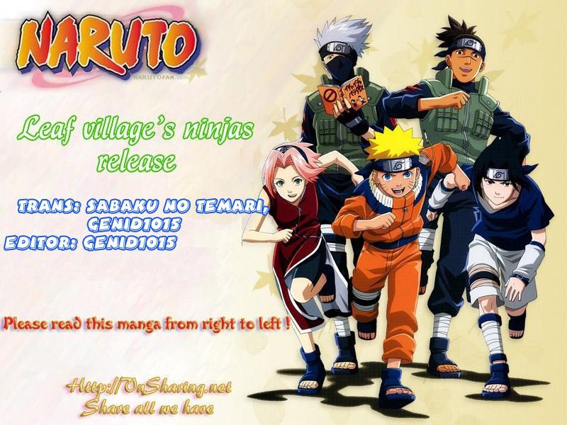 Naruto chap 410 Trang 1 - Mangak.info