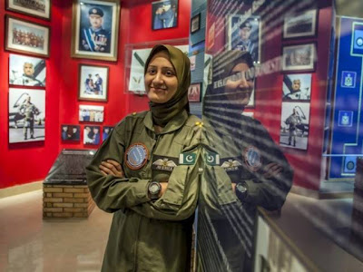 Ayesha Farooq Pakistani First Female Fighter Pilot