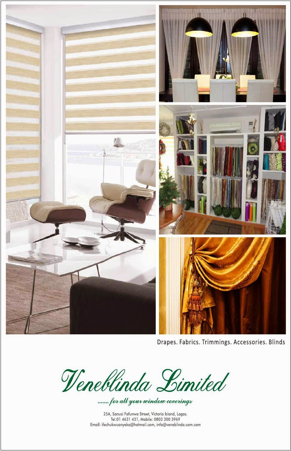 For Your Blinds and Curtains