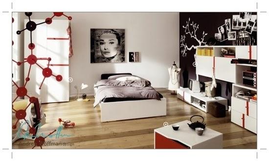 Amoblamientos y productos andrea w ffman dormitorios - Dormitorios juveniles cordoba ...