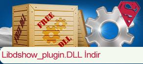Libdshow_plugin.dll Hatası çözümü.