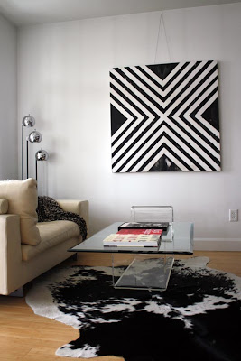 Geometric Living Room Ideas