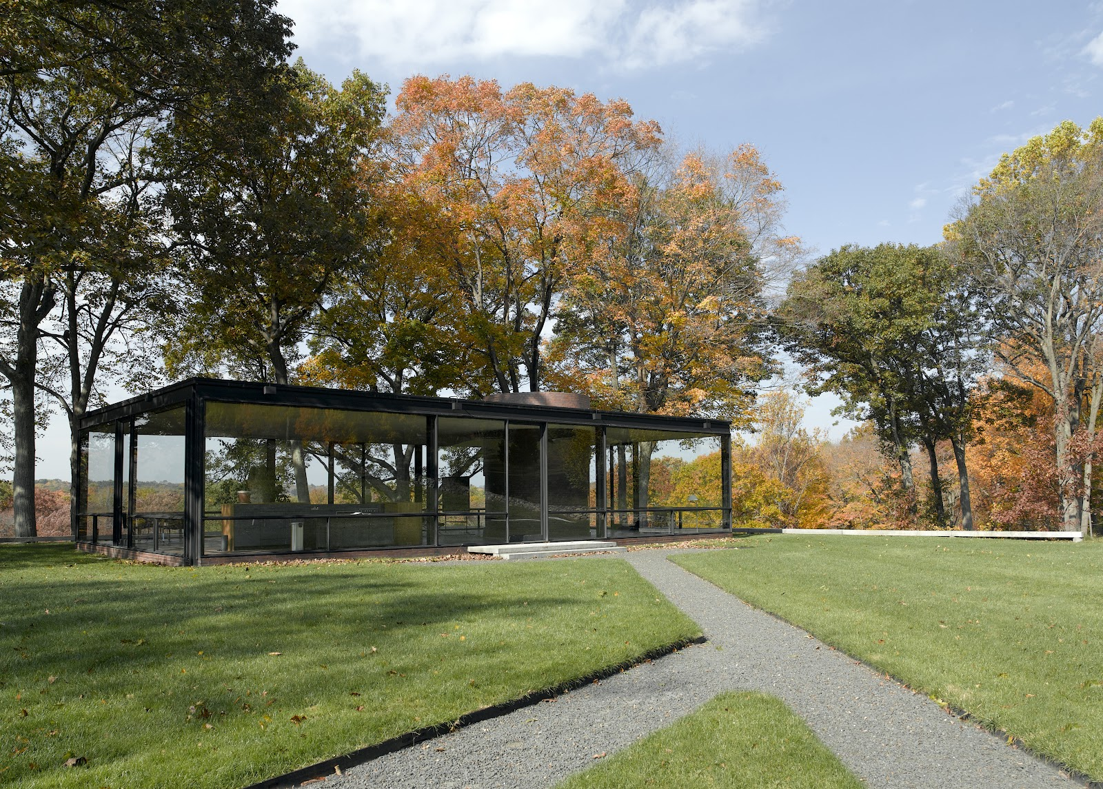 Glass House Art And Architecture