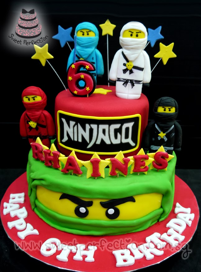 Sweet Perfection Cakes Gallery Code Ninjago 13 Rhaines