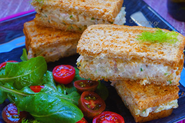 Tuna Cheese Sandwich