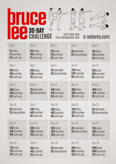 30 Day Fitness Challenges Ethan A Chase M S Physical