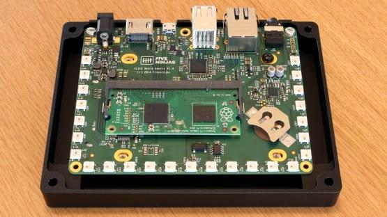 Raspberry Pi Compute Module no Slice