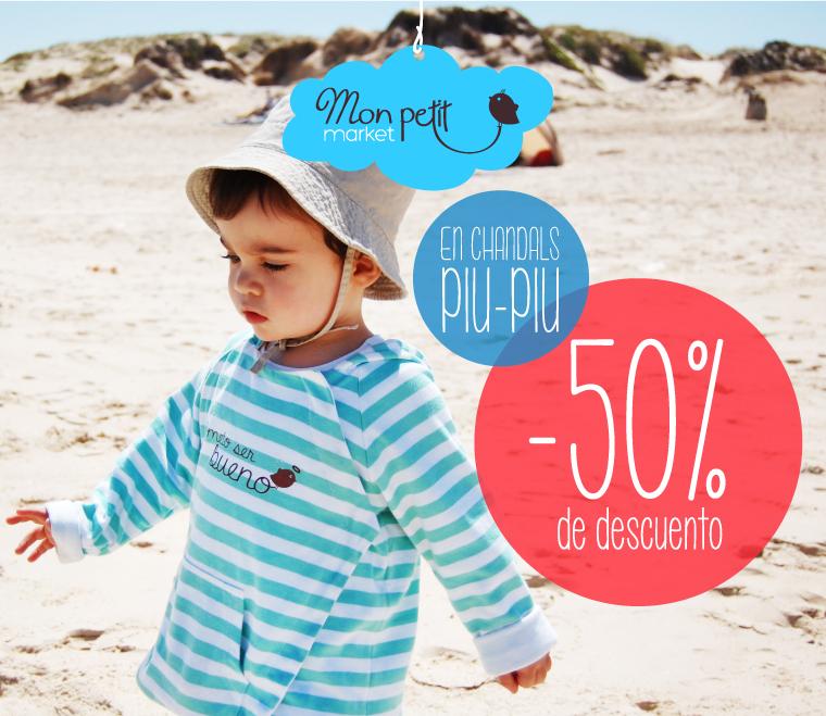 Rebajas en Mon Petit Market Escaparate Moda Infantil Handmade