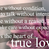 The Heart Of True Love