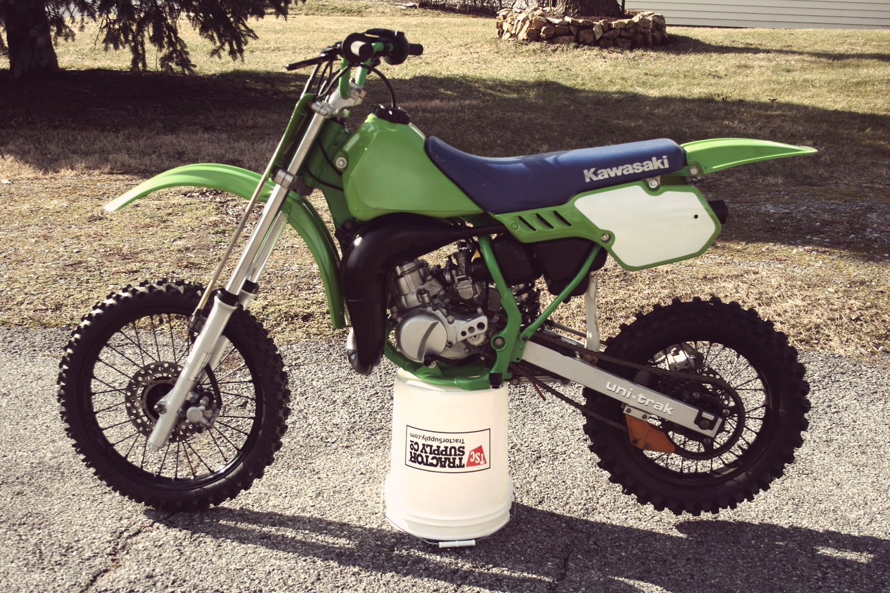 Finished the restoration of the 1985 kx80