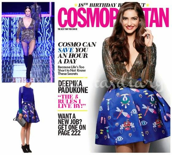 Sonam Kapoor is the Guest Editor for Cosmopolitan India
