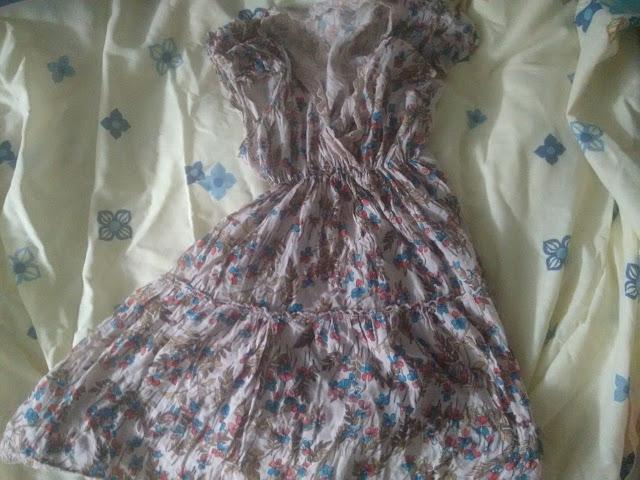 short con un vestido