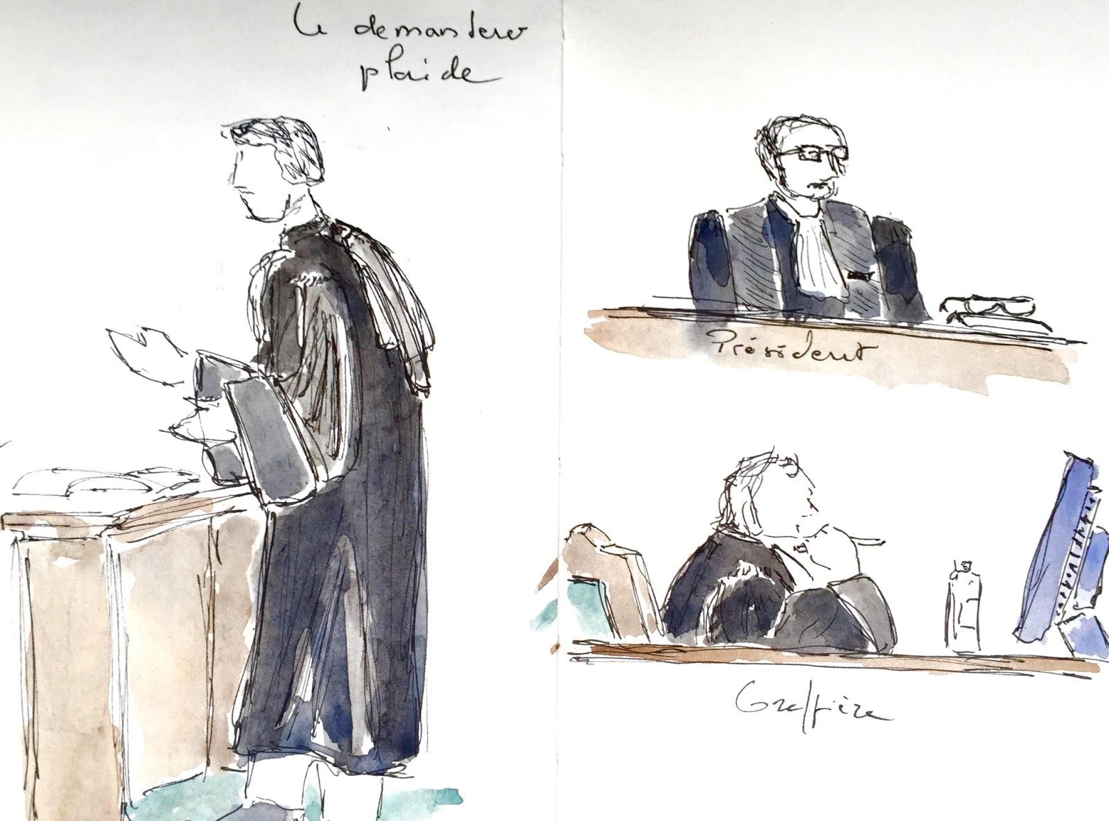 Carnets du croque ma tre audience au tribunal de commerce for Chambre de commerce de paris formation